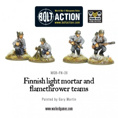 Finnish Light Mortar and Flame Thrower