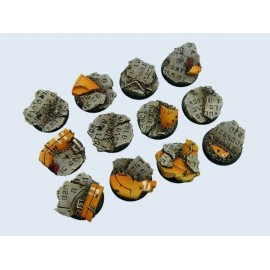 Round TauCeti 25mm Bases (5)