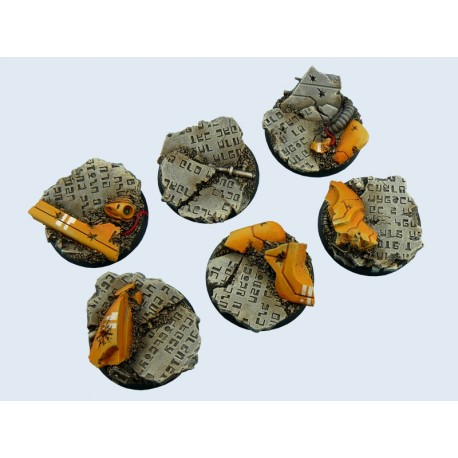 Round TauCeti 40mm Bases (2)