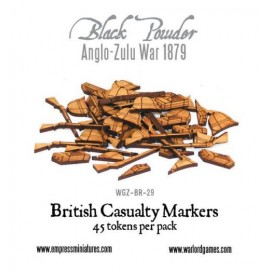 AZW British Casualty Markers