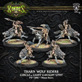 Tharn Wolf Riders Circle Light Cavalry Unit