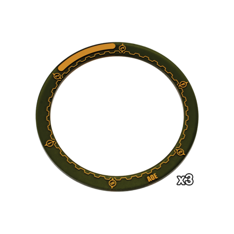 """WARMACHINE 4"""" Area of Effect Ring Markers"""
