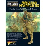 French Army: Infantry Section
