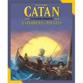 Catan Explorers And Pirates 5-6 Player Extension