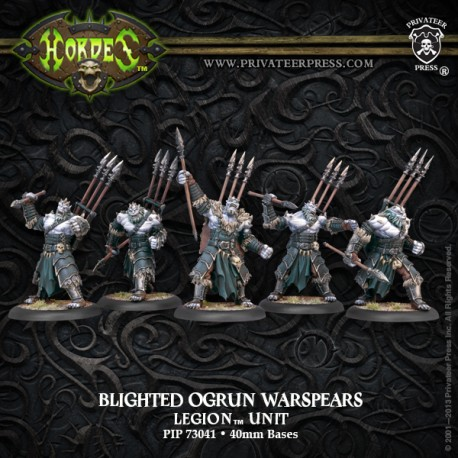 Legion of Everblight Warspears (Plastic)
