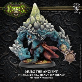 Mulg The Ancient - Dire Troll Warbeast (box)