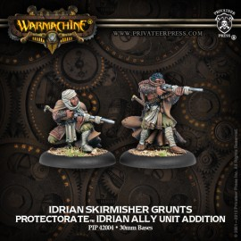 Protectorate Allies Idrian Skirmishers (2)