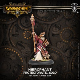 Protectorate Warcaster Attachment: Heirophant