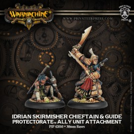 Protectorate Allies Idrian Skirmisher Chieftain and Guide
