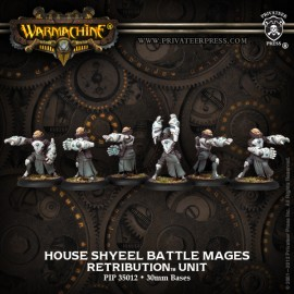 Retribution House Shyeel Battle Mages