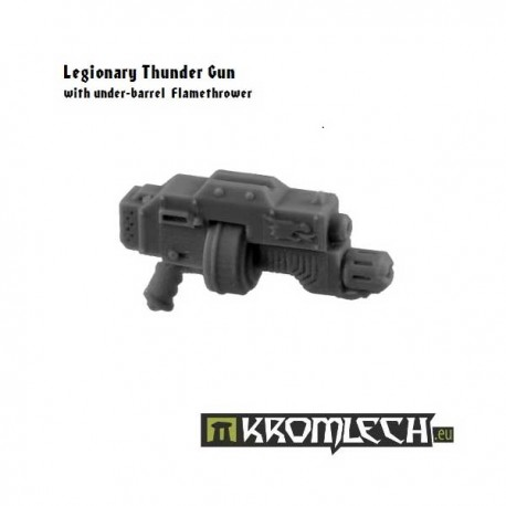 Legionary Thunder Gun with under-barrel Flamethrower