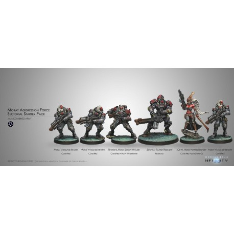 Morat Aggression Forces (Combined Army Sectorial Starter Pack)