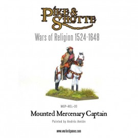 Mercenary Captain Mounted (War of Religion)