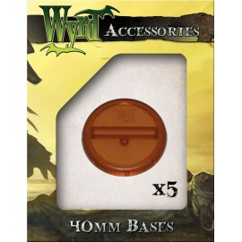 Brown Bases – 40mm