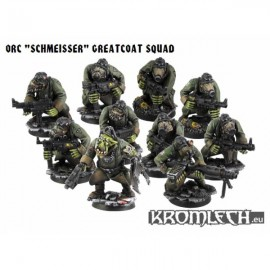 Orc Schmeisser Greatcoats Squad [armoured bodies]