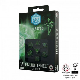 Ingress Dice Set: Enlightened (7)