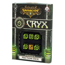 Warmachine Cryx Faction Dice