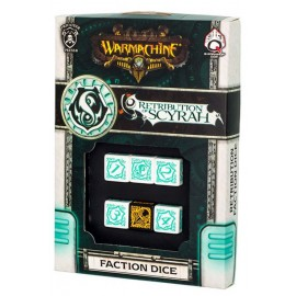 Warmachine Retribution of Scyrah Faction Dice