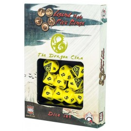 Legend of the Five Rings- Dragon Clan Dice Set (10)