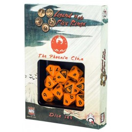 Legend of the Five Rings- Phoenix Clan Dice Set (10)