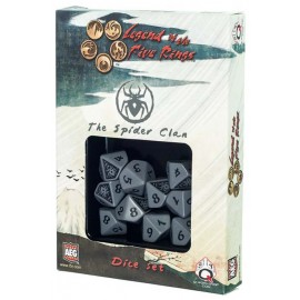 Legend of the Five Rings- Spider Clan Dice Set (10)