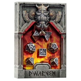 Metal Dwarven Dice Set (7) BOX