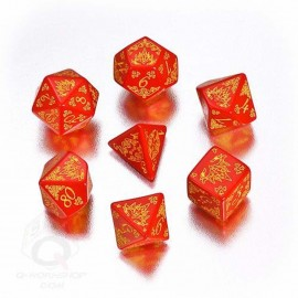 Pathfinder Curse of the Crimson Throne Dice (7)