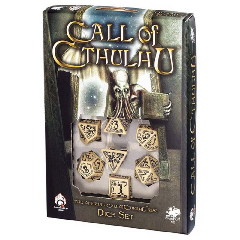 a place to call home box set call of cthulhu 7th edition black green dice set call of Call Of Cthulhu Beige u0026 Black Dice Set (7)