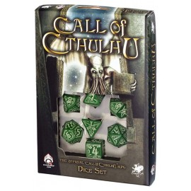 Call Of Cthulhu Green/Glow in the Dark Set (7)