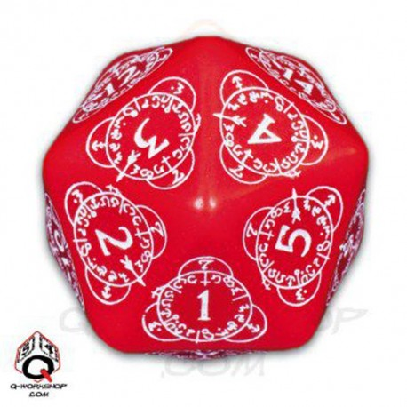 D20 Level Counter Red & white