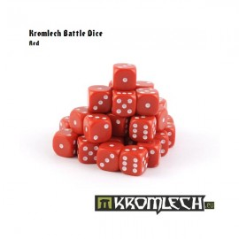 Battle Dice 35x Red 12mm