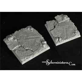Egyptian Ruins 50 mm square base