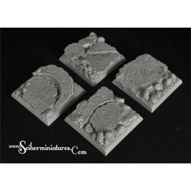 Egyptian Ruins 40 mm square bases