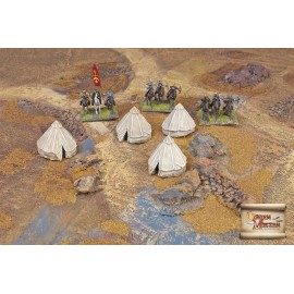 Eastern style military tents 1