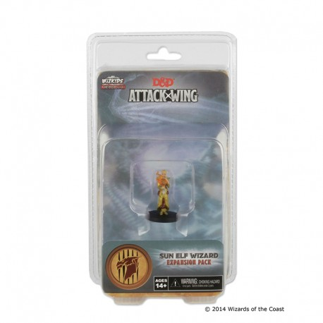 D&D Attack Wing Wave 1 - Sun Elf Wizard