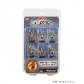 D&D Attack Wing Wave 1 - Sun Elf Guard Troop