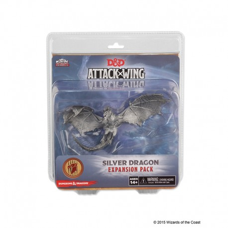 D & D Attack Wing Wave 3 Silver Dragon Expansion