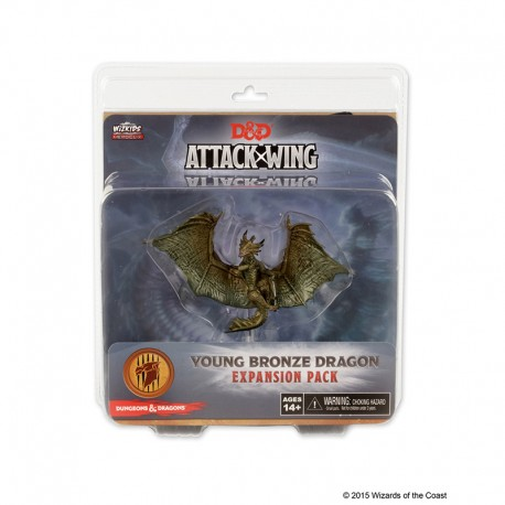 D & D Attack Wing Wave 5 Bronze Dragon Expansion