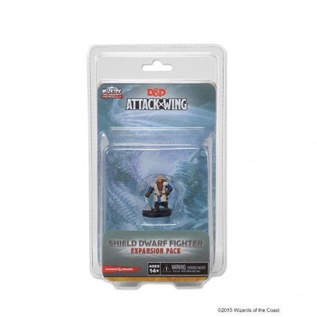 Dungeons And Dragons Attack Wing - Dwarf Fighter