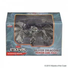 D&D Attack Wing Premium Figure - Silver Dragon