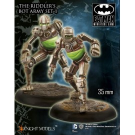 The Riddler Bot Army Set 1 - Metal