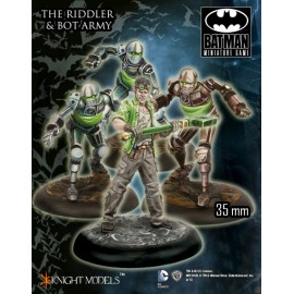 The Riddler And Bot Army - Metal