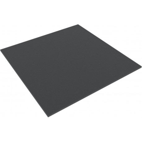 300 mm x 300 mm x 5 mm thin foam topper / layer