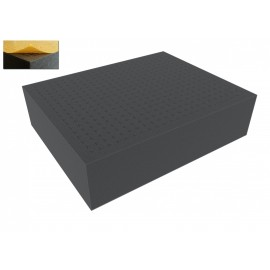 FS090RS 90 mm Figure Foam Tray full-size Raster self-adhesive