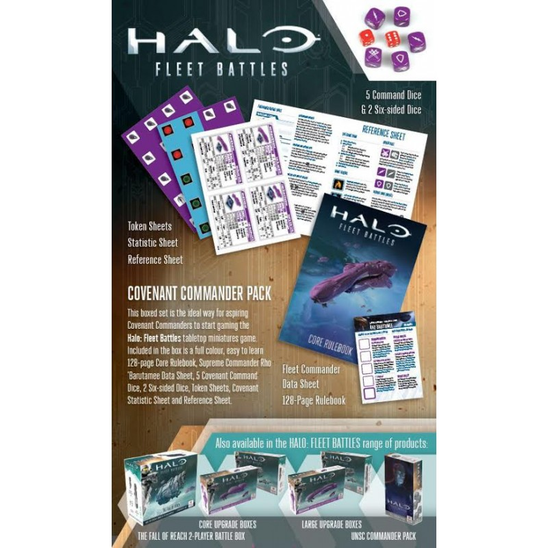 Covenant Commander Pack - Halo Fleet Battles - Wargames