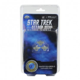 Federation Fighter Squadron: Star Trek Attack Wing (Wave 11)