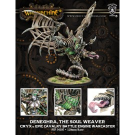 Deneghra, the Soul Weaver Cryx Epic Cavalry Battle Engine Warcaster