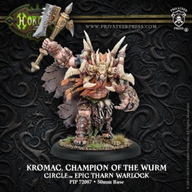 Kromac, Champion Of The Wurm Circle Epic Tharn Warlock
