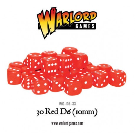 30 Red D6