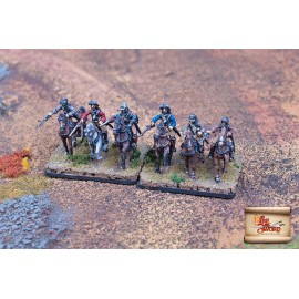 Imperial cuirassiers in armour
